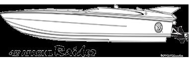 42′ Raider - Apache Powerboats