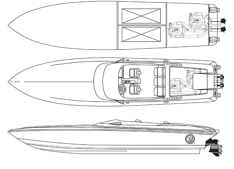 38′ Eagle - Apache Powerboats