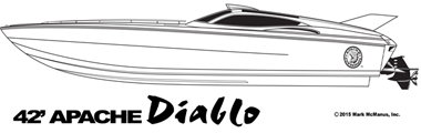 42' Diablo - Apache Powerboats