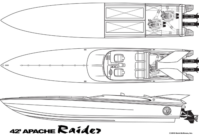 42′ Raider - Apache Powerboats