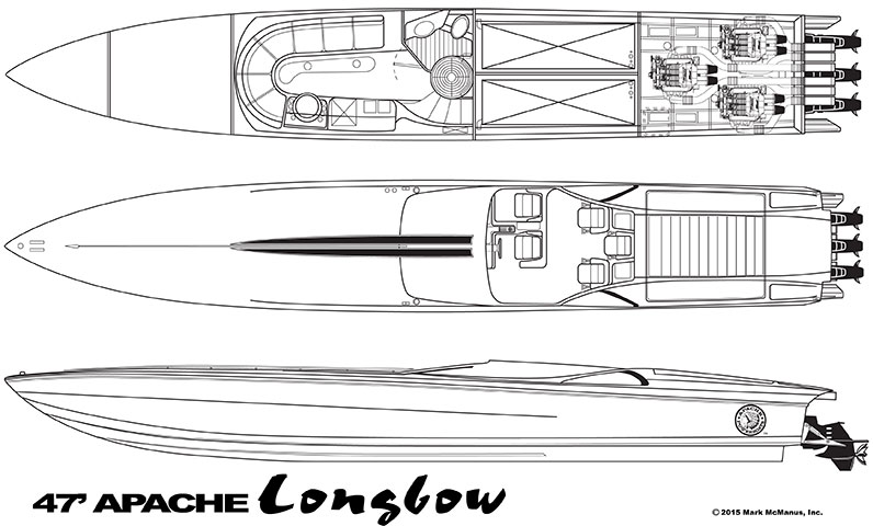 47′ Longbow - Apache Powerboats