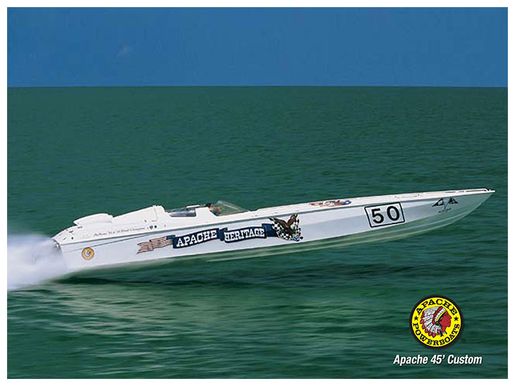 Apache Heritage 50 - Apache Powerboats