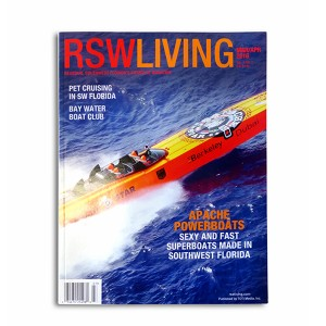 """Apache Star"" on the cover of RSW Living Magazine Signed by Mark McManus"