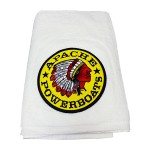Apache Boat & Beach Towel - White - 70x40