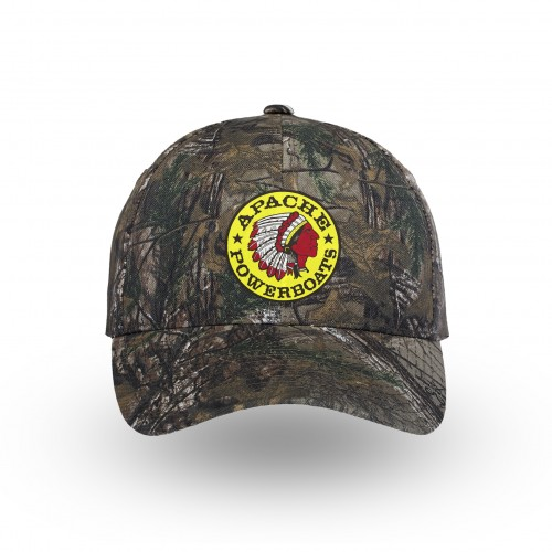 Apache Powerboats Hat - C855 - Realtreextra - Front - Logo