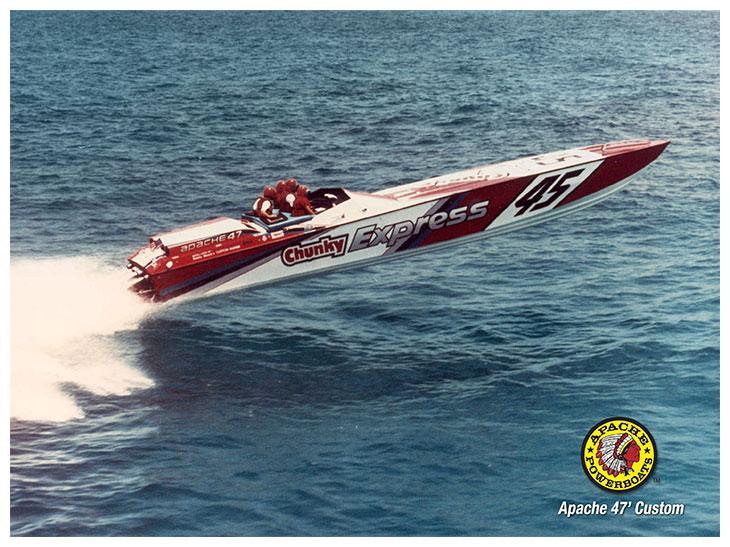 Chunky 47' - Apache Powerboats
