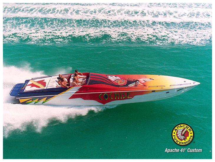 Cochise 41' - Apache Powerboats