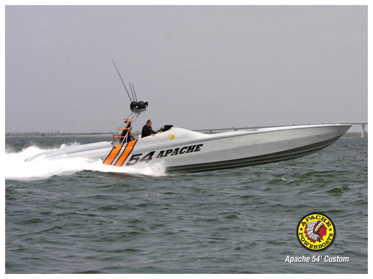 Cold War 54' (Medium) - Apache Powerboats