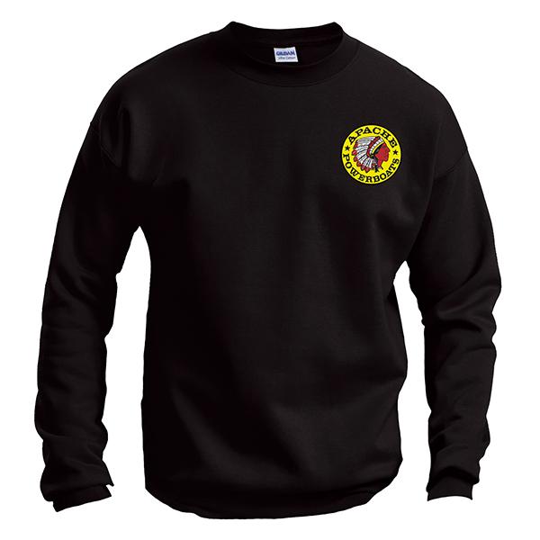 Apache Sweatshirt - Front - Black