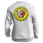 Apache Sweatshirt - Back - White