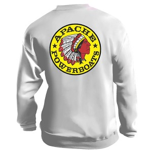 Apache Sweatshirt - Back - White