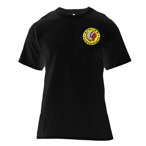 Apache Short Sleeve T-Shirt - Front - Black