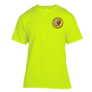 Apache Short Sleeve T-Shirt - Front - Safety Green