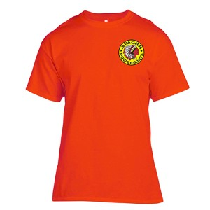 Apache Short Sleeve T-Shirt - Front - Safety Orange