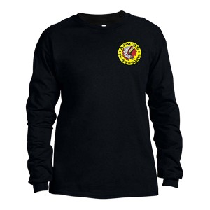 Apache Long Sleeves T-Shirt - Black - Front