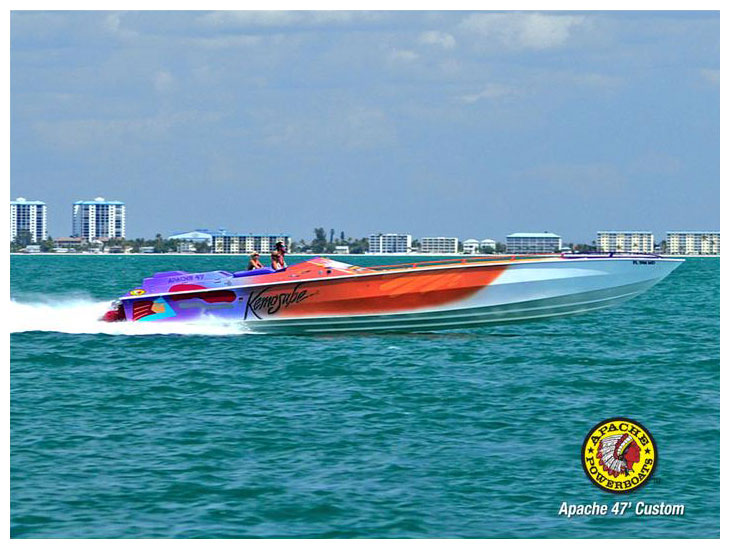 Kemosabe 47' (Medium) - Apache Powerboats