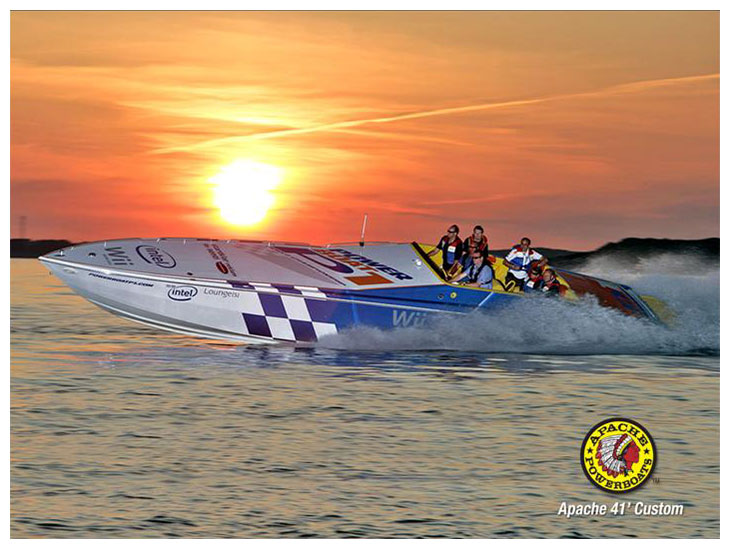 P1 Paceboat (Medium) - Apache Powerboats