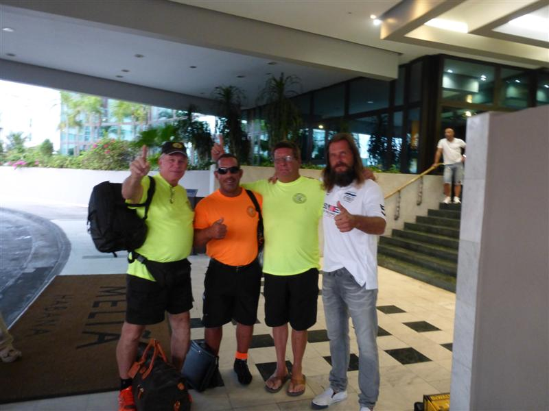 """Apache Star"" Crew - World Record Speed Run - USA to Cuba - 110 miles in 90 minutes!"