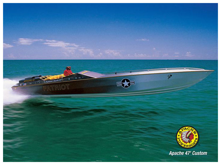 Patriot 47' - Apache Powerboats