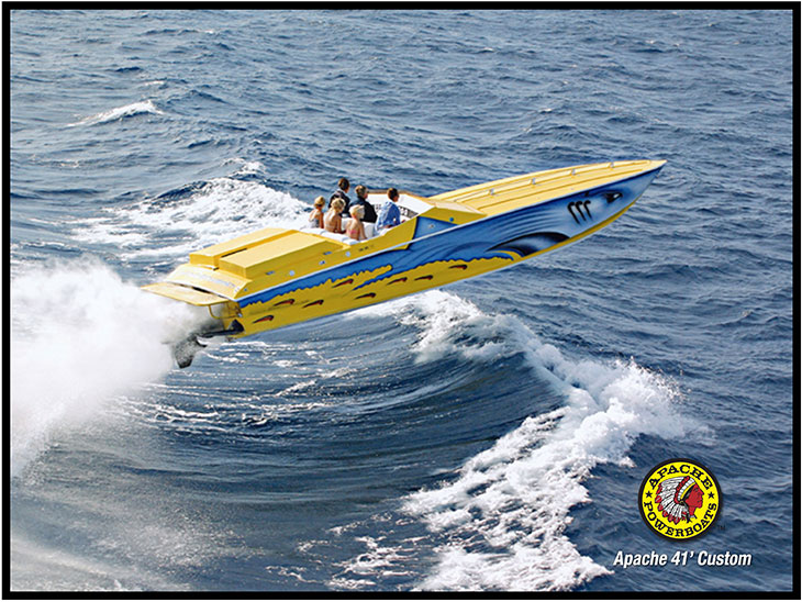 Shark 41' - Apache Powerboats