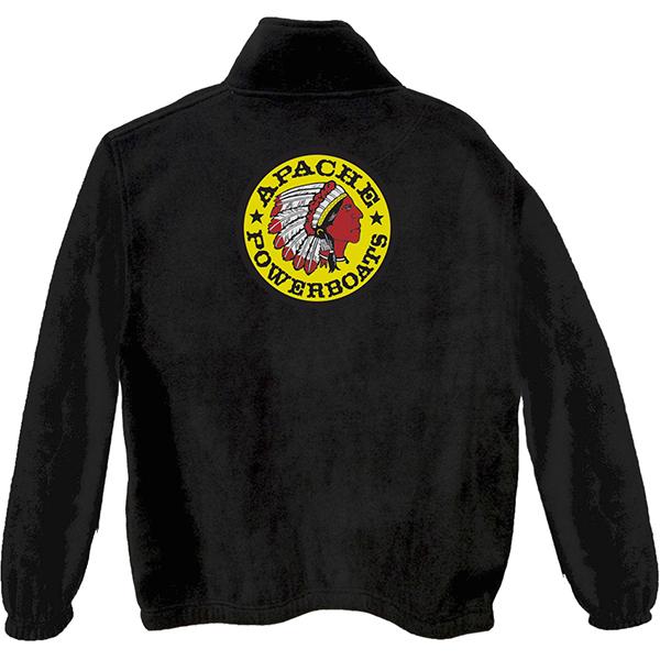 Apache Fleece Jacket - Black - Back