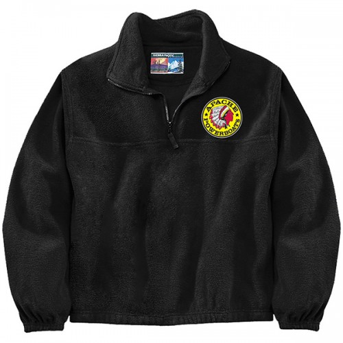 Apache Fleece Jacket - Black - Front