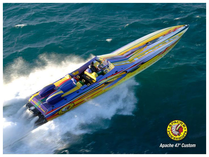 Spirit of Apache 47' (Medium) - Apache Powerboats