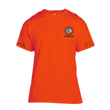 Apache 188th Street - Thunderboat Row T-Shirt - Front - Safety Orange