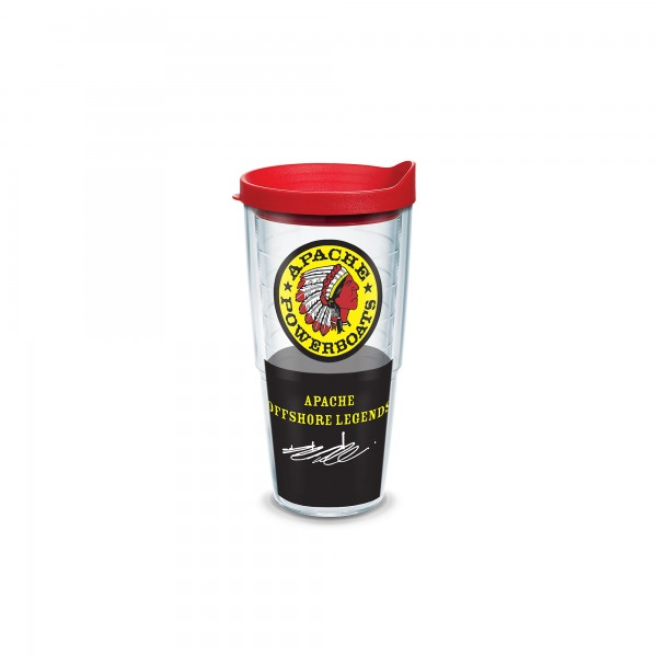 Apache Powerboats Insulated Tumbler - 24 oz - No Handle - Tervis