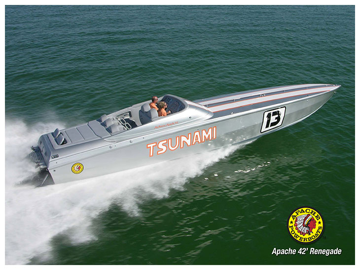 Tsunami 42' - Apache Powerboats