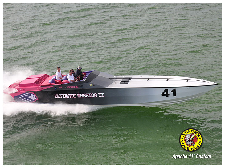 Ultimate Warrior II 41' - Apache Powerboats